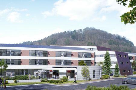 Construction du nouveau bâtiment Ehpad